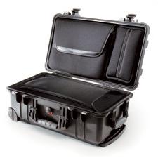 1510 LOC Maleta Peli con ruedas y bolsa organizador (permitida en cabina de vuelo)